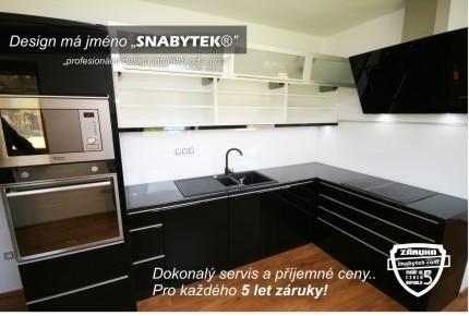 kuchyně Black-line