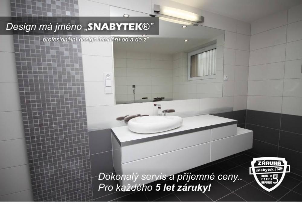 koupelna šedá