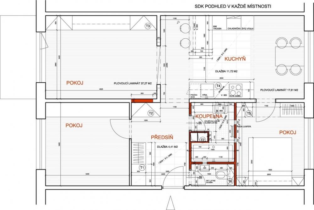 Rekonstrukce 1 - nový návrh