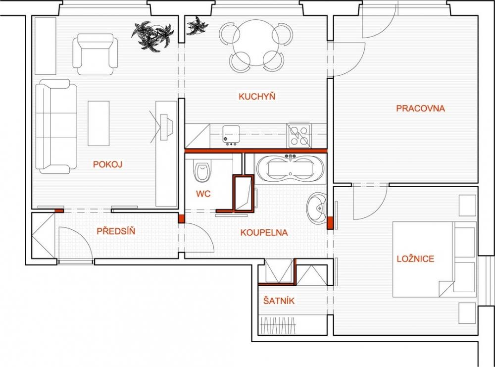 Rekonstrukce 2 - nový návrh