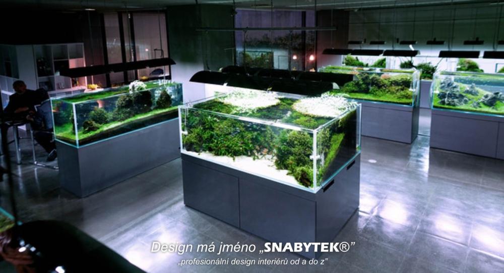 akvarijní skříňky
